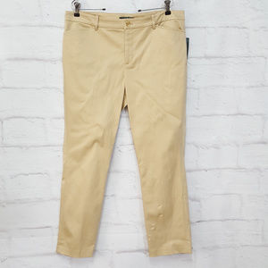 Ralph Lauren Khaki Tan Pants Sz 14